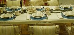 Blumen vergessen! ( Percy Germany  ) Tags: dinner essen fest tisch muster stuhl tafel speisen