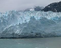 Cool Colours - An Alaska Glacier (Pushapoze (MASA)) Tags: cruise alaska icecoldwater blueglacier