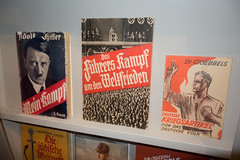 Nazi propaganda (quinet) Tags: 2013 allemagne deutschland germany hakenkreuz munichstatemuseum mnchen nsdap rassismus stadtmuseummunich nazi racism racisme svastika swastika munich bavaria