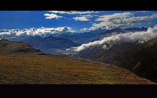 Grimselpass panorama from the Furkapass