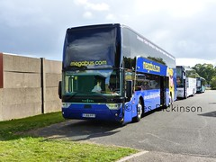 YJ66 FFT, Van Hool, Megabus, Western 50292, P1050322 (LesD's pics) Tags: bus coach showbus2016 megabus yj66fft vanhool western50292