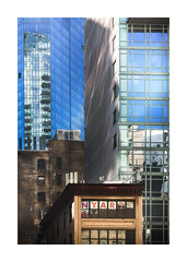 NY Collage III (icypics) Tags: america architecture buildings newyork reflections signs