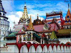 Izmaylovo Kremlin (Aviva B) Tags: moscow city architecture russia russian 2016 byzantine pseudo izmaylovo kremlin vernissage pre petrine fairy tales old