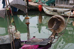 IMG_0725 (S.J.L Photos) Tags: water boat boot reflection italy caorle
