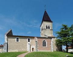 Eglise de Saint Paul de Varax - Dombes - Ain (Vaxjo) Tags: auvergne rhnealpes ain dombes saintpauldevarax glise church