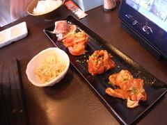 カンドカン定食のお肉