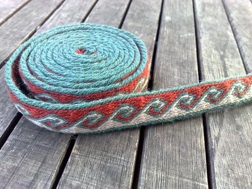 Kivrim tablet weave