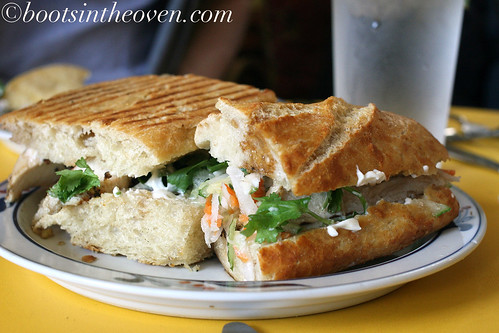 Black Pepper Chicken Banh Mi