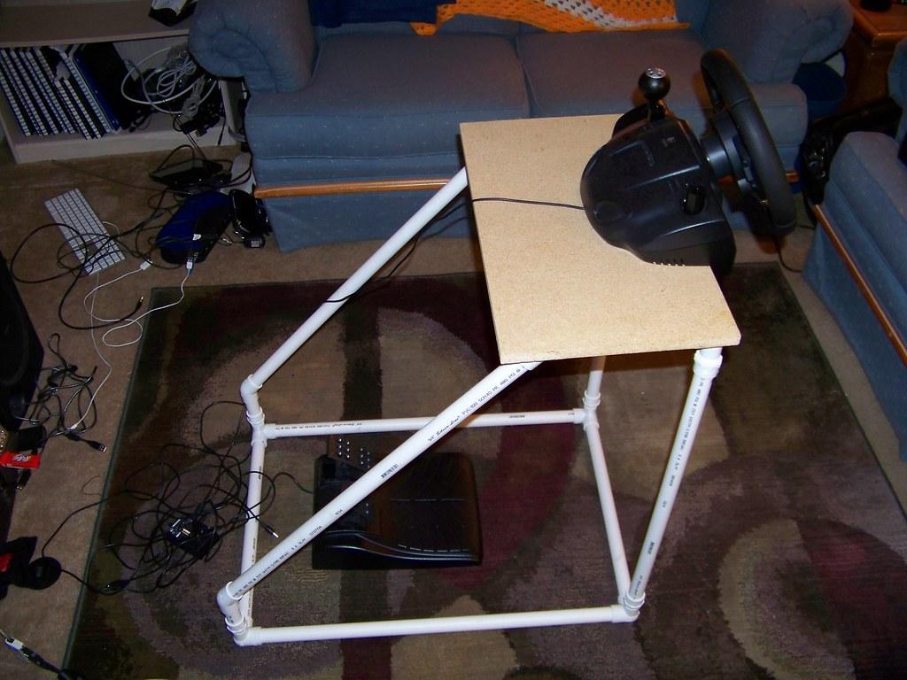 Thrustmaster force feedback racing wheel