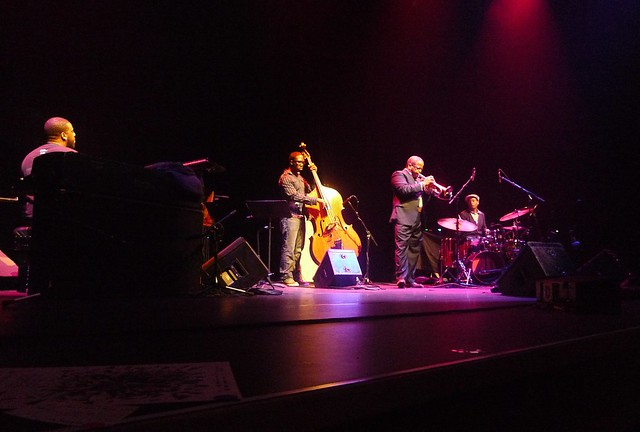Robert Glasper Trio plus Terence Blanchard and Chris Dave
