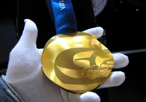 2010 Olympic Gold Medal, Royal Canadian Mint