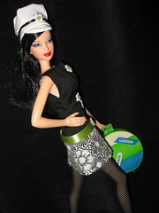 Mod Fly Girl6 (annesstuff) Tags: paris rome london doll barbie fashiondoll mattel miniaturecamera barbiecamera dollhouseminiature ooakfashion annesstuff basicbarbie calgarybarbieconvention