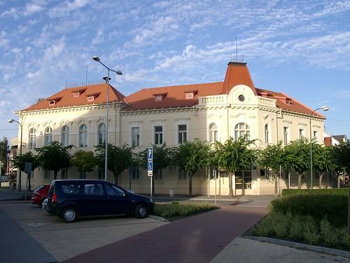 Building in Sereď 2008-08-19