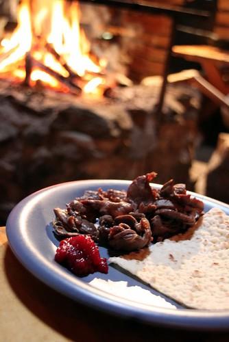 Suovas con lingon y pan ácimo, foto: EatingLikeAGirl