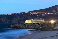 Day into night (Pedro Grancha) Tags: beach portugal canon sintra guincho cascais 500d ef70200mm