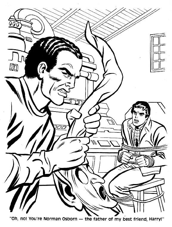 Spider-Man Unmasked! Coloring Book034