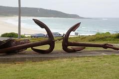 Catherine Hill Bay (Cassy72) Tags: rust anchor rustyanchor catherinehillbay cassandravirgona