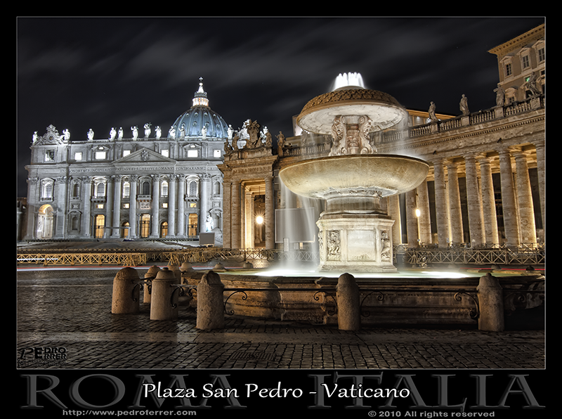 Roma - Plaza San Pedro