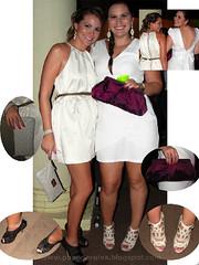 Aline Amaral e Vera Lopes - HouseClub White Edition 27/11/10