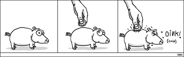 comics-strips - coin oink