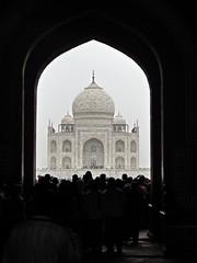 Taj Mahal Framed