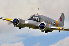 Atlantique,s Anson.. (mickb6265) Tags: transport ww2 bomber command trainer raf airatlantique avroanson sywellairdisplay2010