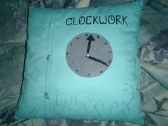 Clockw0rk's ... pillow?