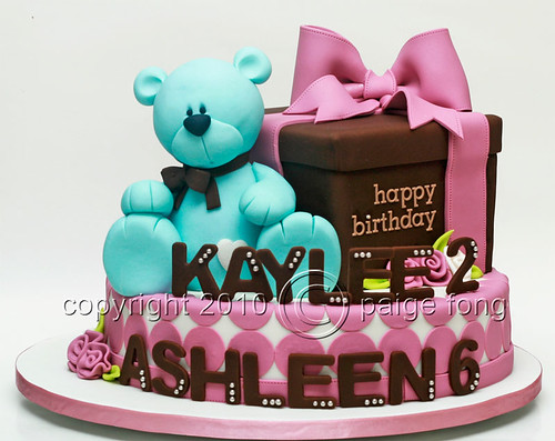 Large Teddy Bear Cake