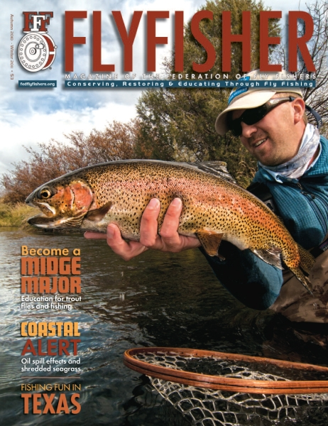 Cover - FlyFisher Magazine - Autumn 2010/Winter 2011