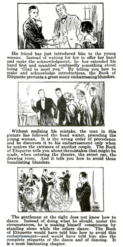 Part 3-6 Etiquette Mistakes Pop Mech Nov 1922