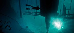 vera silhouette (Paul Cowell) Tags: silhouette boat aqua philippines scuba diving undrewater canon5dmark2 paulcowell aquaticahousing hmsvera
