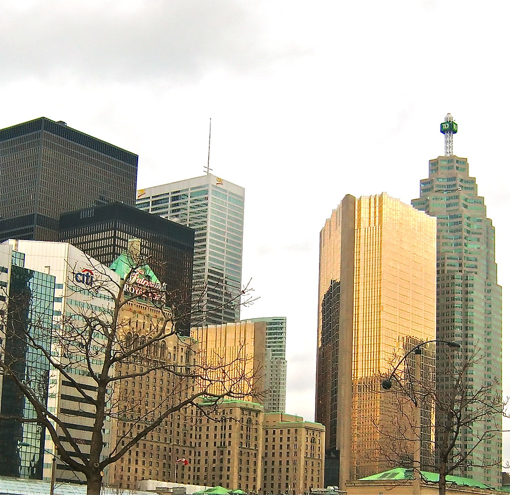 The 4 Bank Buildings in Toronto On.