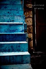 Painted Stairs (mbaser) Tags: voyage trip travel sea vacation sky canon turkey boat reisen ancient ship tour trkiye ruin trkei antalya turkei kaleici kaleii eos50d yatliman mermerli turkjie httpballoonaprivatthumbloggercom