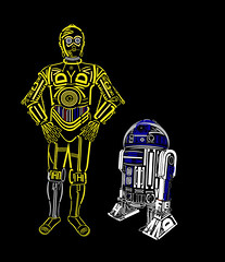 C3typo & R2typo (Lishoffs) Tags: typography star r2d2 c3p0 wars fonts