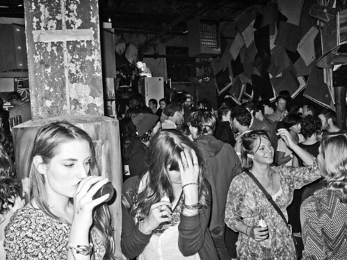 Crowd at Glasslands