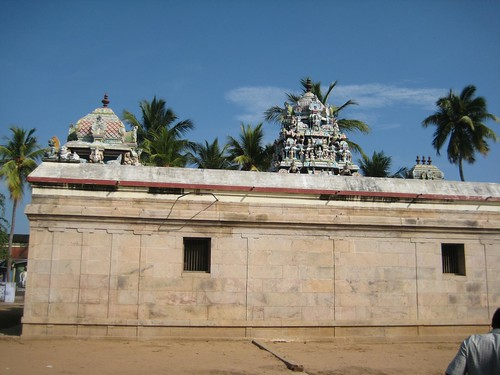 Shiva shrine Vimanams