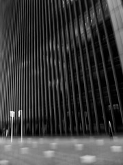 Almost 365: Lonely for the Last Time (ProphecyBlur) Tags: canarywharf icm builings intentionalcameramovement intentionalcameramovemant