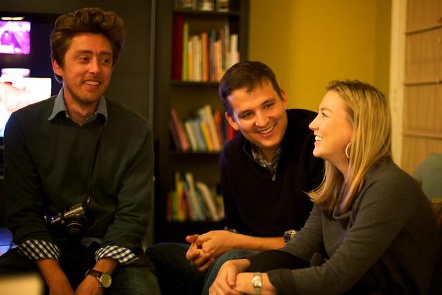 Jeremy, Steve, and Alicia