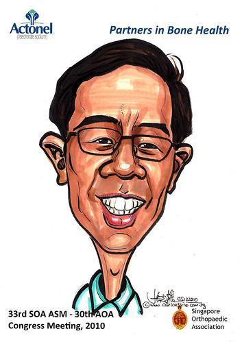 Caricatures for Sanofi-Aventis - 31