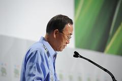 Ban Ki moon (UNclimatechange) Tags: mexico high level change conference segment climate cancn unfccc cop16 cmp6