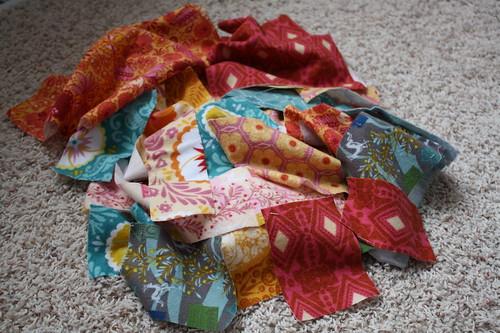 Flannel scraps