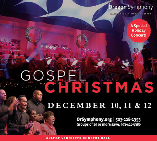 This Weekend: Oregon Symphony's 12th Annual Gospel
