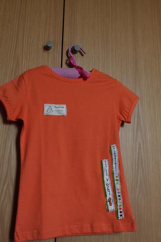 Tshirt Laranja