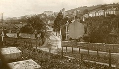Laira Avenue, Plymouth, c.1914 (Richard and Gill) Tags: sepia postcard plymouth devon laira lairagreen lairaavenue