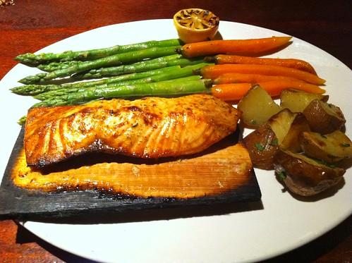 Season's 52 Cedar Plank Salmon
