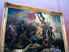 The 28th of July, Liberty Guiding the People - Eugene Delacroix, 1830 (rosewithoutathorn84) Tags: paris france art history museum painting french liberty louvre paintings 1800s arts culture musee 28 juillet parisian francais delacroix museedulouvre parisien 28thofjuly