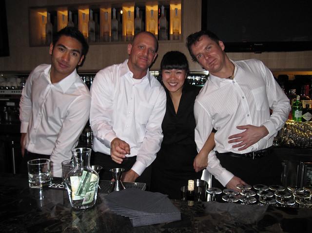 Q4 al Centro's bar staff
