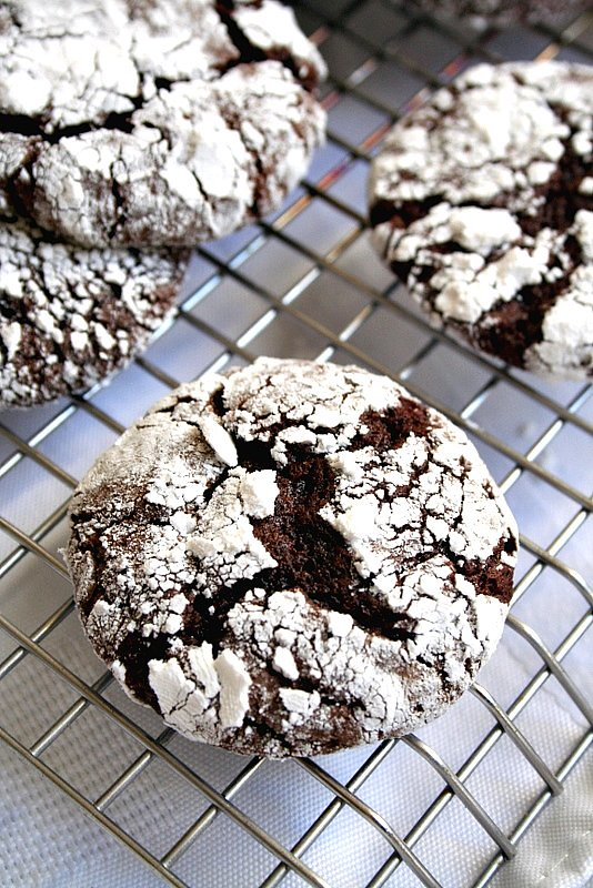 Espresso Chocolate Crinkles