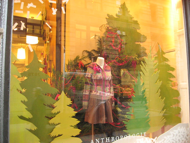 5th Ave Anthropologie Windows