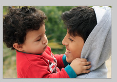 [FTA] BanWabii ;D (Eng. Fouzan Al-Fouzan) Tags: cute kids nice hug friend bokeh brother innocence childrens brotherhood  wahabi   abdulwahab  banwan